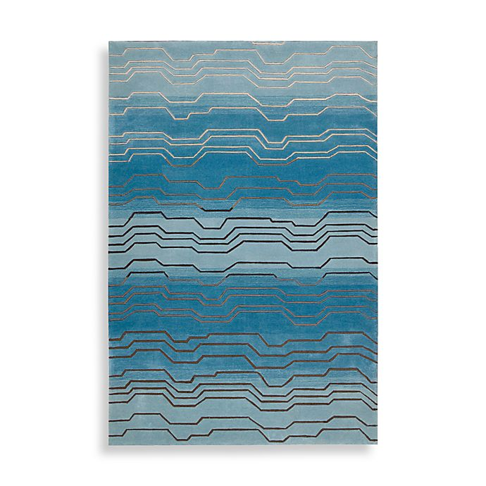Alternate image 1 for Nourison Contour Hand Tufted Area Rug in Azure