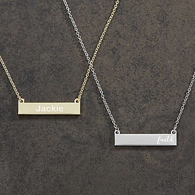 Her Nameplate Necklace