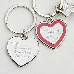 Always With You Heart Keychain