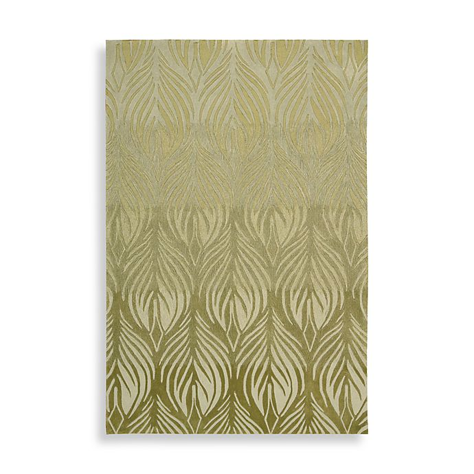Alternate image 1 for Nourison Contours Green Rug