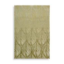 Nourison Contours Green Rug