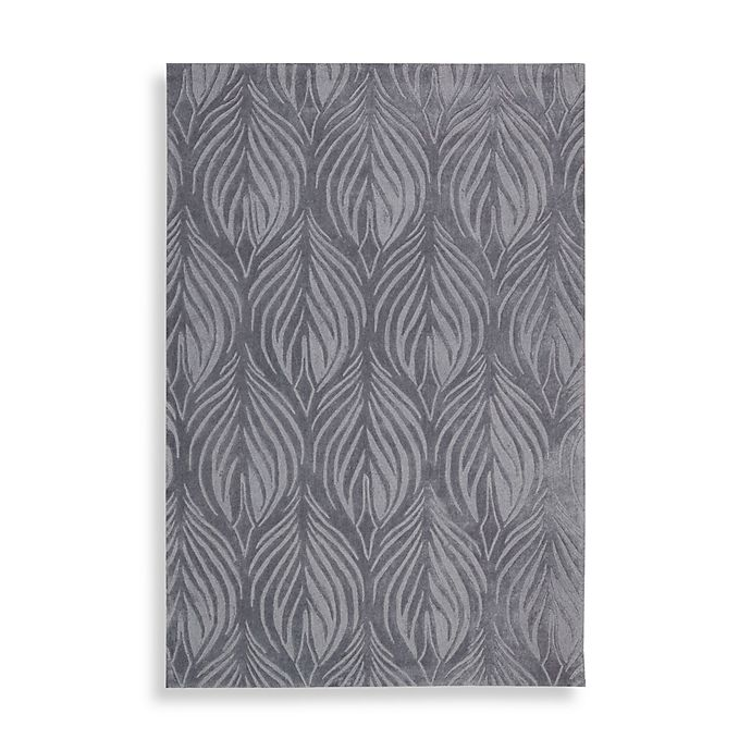 Alternate image 1 for Nourison Contours Slate Rug
