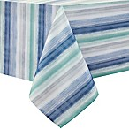 Colordrift Painted Stripe 60-Inch x 120-Inch Oblong Tablecloth