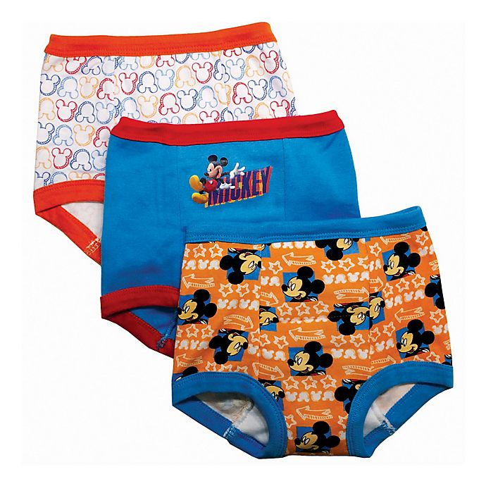 Alternate image 1 for Disney® 3-Pack Mickey Mouse Training Pant