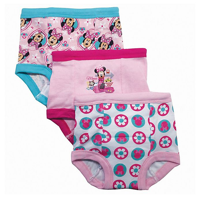 Alternate image 1 for Disney® 3-Pack Minnie Mouse Training Pant