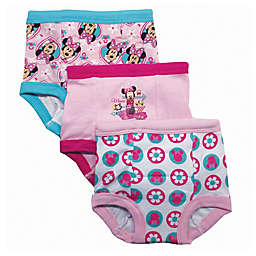 Disney® Size 3T 3-Pack Minnie Mouse Training Pant
