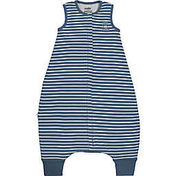 Woolino Size 6-18M Striped Wearable Blanket in Navy