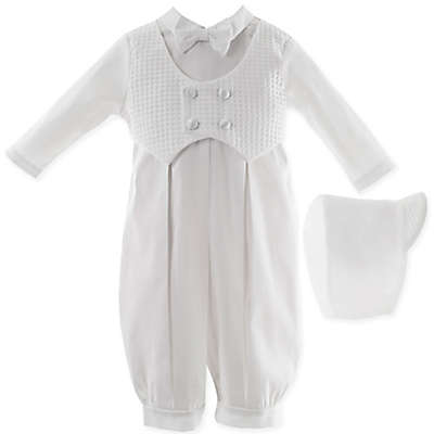 Lauren Madison 100% Cotton Coverall and Hat Set