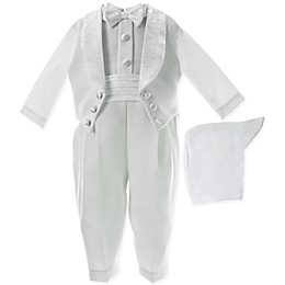 Lauren Madison Christening Coverall and Hat