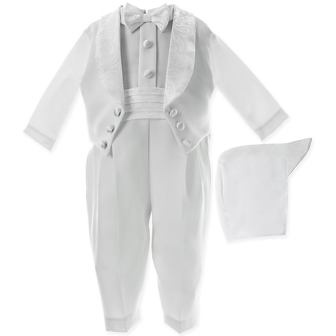 Alternate image 1 for Lauren Madison Christening Coverall and Hat