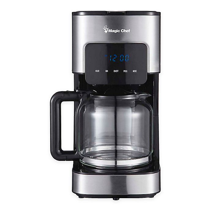 Alternate image 1 for Magic Chef® 12-Cup Stainless Steel Drip Coffeemaker
