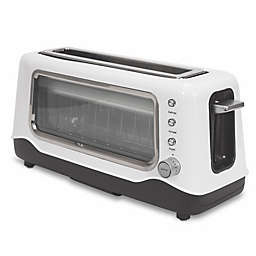 Dash® Clear View 2-Slice Toaster in White