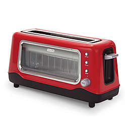 Dash® Clear View 2-Slice Toaster in Red