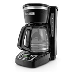 BLACK + DECKER 12-Cup* Programmable Coffee Maker in Black