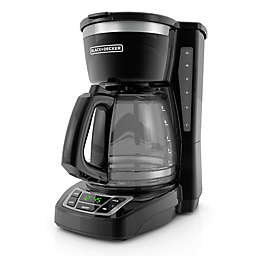 Black + Decker™ 12-Cup* Programmable Coffee Maker in Black