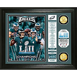 NFL Philadelphia Eagles Super Bowl 52 Champion Banner Photo Mint 2475fbe7f