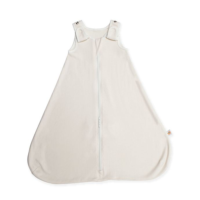 Alternate image 1 for Ergobaby™ Size 0-6M Premium Cotton Wearable Sleeping Bag in White