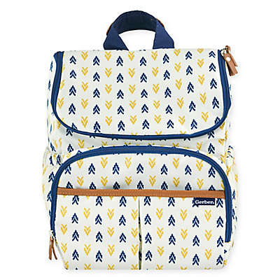 Gerber® Aztec Print Backpack Diaper Bag