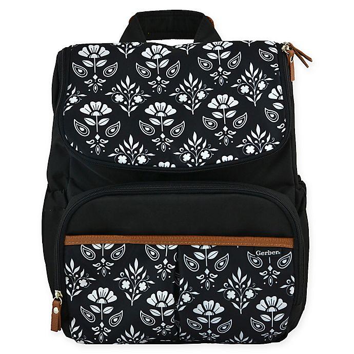 e71ccf43664 Gerber® Floral Geo Print Backpack Diaper Bag | buybuy BABY