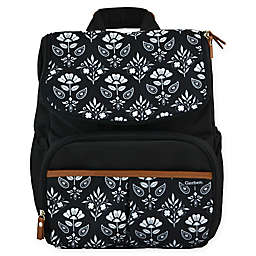 Gerber® Floral Geo Print Backpack Diaper Bag
