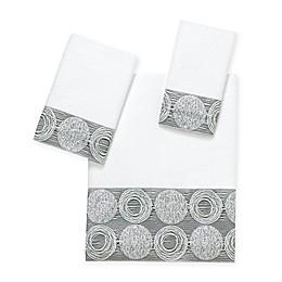 Avanti Galaxy Bath Towel Collection in White