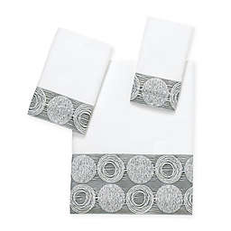 Avanti Galaxy Bath Towel Collection in White
