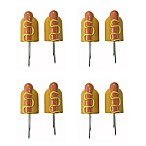 Just Grillin' Hot Dog Shape Corn Holders (Set of 8)