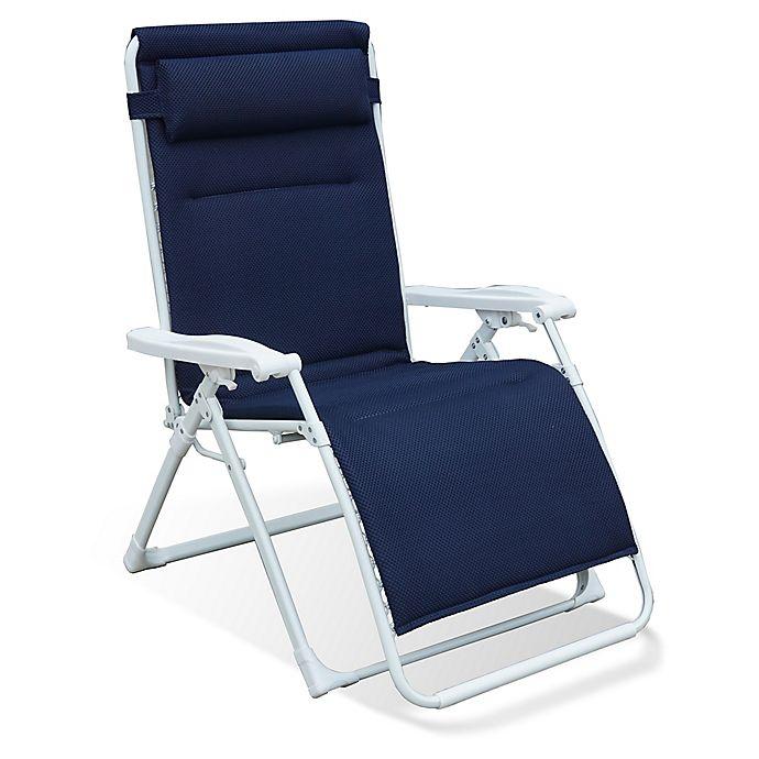 Terrific Never Rust Summerwinds Aluminum Padded Oversized Adjustable Creativecarmelina Interior Chair Design Creativecarmelinacom