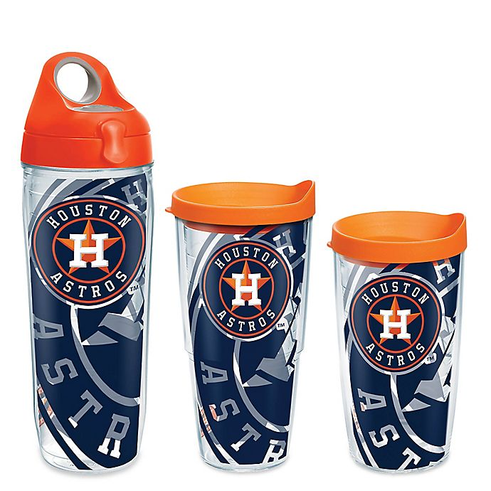 cb699e3ae2f Tervis® MLB Houston Astros Genuine Wrap Drinkware with Lid