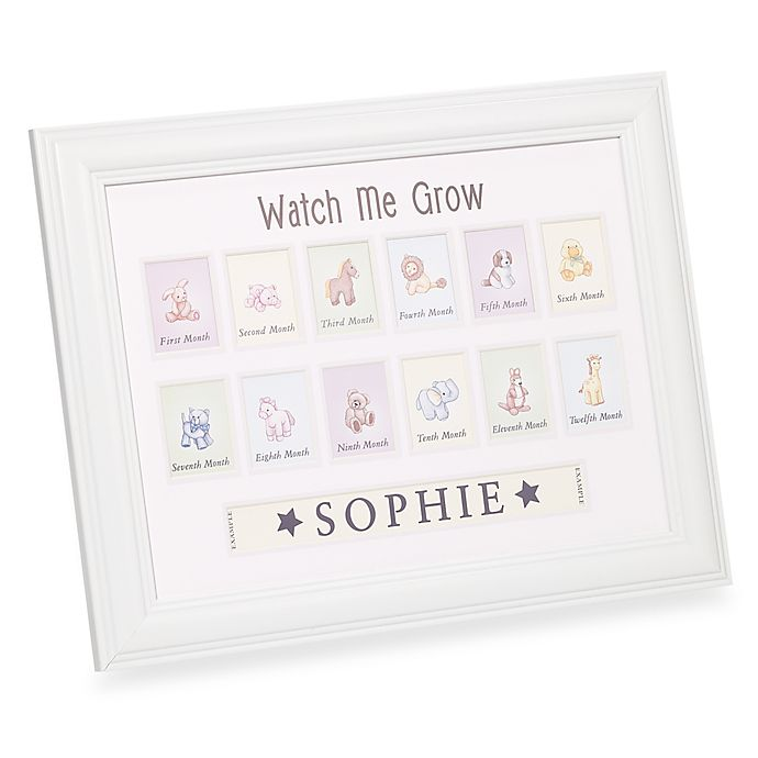 Havoc Gifts Watch Me Grow Personalized Frame Bed Bath Beyond