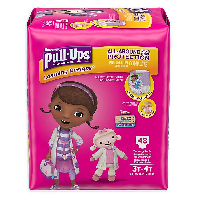 Alternate image 1 for Huggies® Pull-Ups® Learning Designs® Size 3T-4T 48-Count Disposable Training Pants