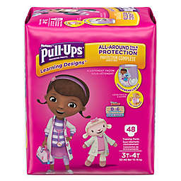 Huggies® Pull-Ups® Learning Designs® Size 3T-4T 48-Count Disposable Training Pants