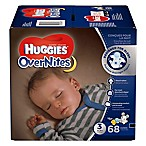 Huggies® Overnites Diapers 68-Count Size 3 Big Pack Diapers
