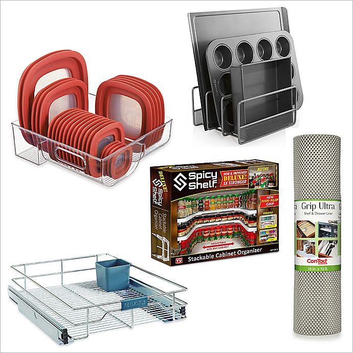 Alternate image 1 for Kitchen Cabinet Storage and Organizer Starter Collection
