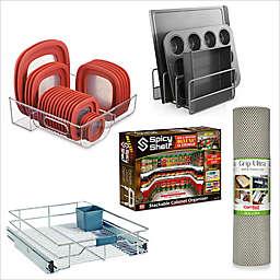 Kitchen Cabinet Storage and Organizer Starter Collection