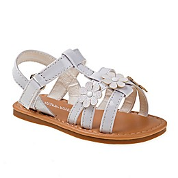 Laura Ashley® Flower Sandal in White