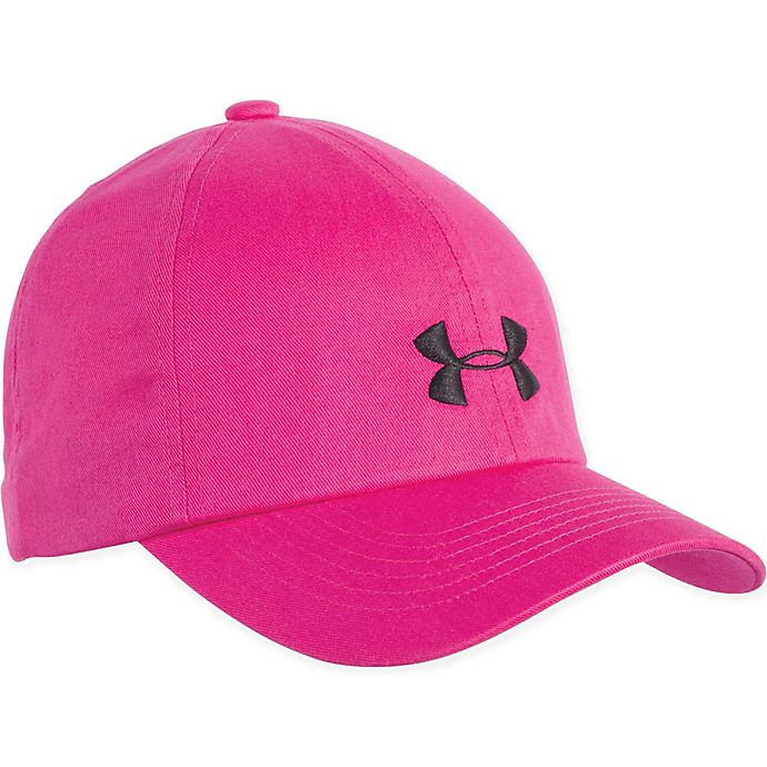 Bonito Aflojar formal  Under Armour® Infant/Toddler Logo Cap in Pink/Black | buybuy BABY