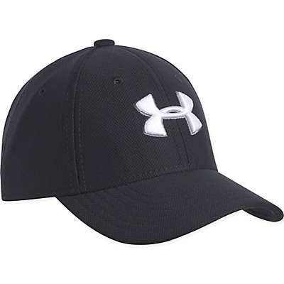 Under Armour® Logo Cap in Black/White