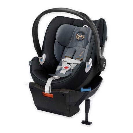 cybex platinum aton q plus infant car seat in graphite black buybuy baby. Black Bedroom Furniture Sets. Home Design Ideas
