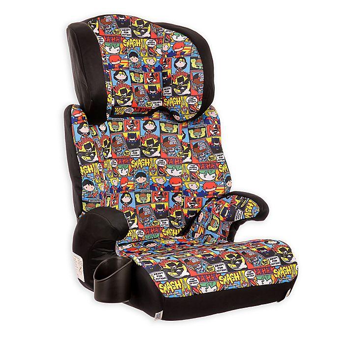 Alternate image 1 for KidsEmbrace® DC Comics™ Justice League Chibi High Back Booster Car Seat