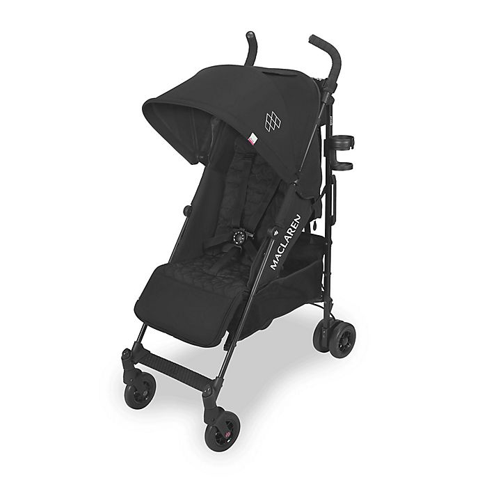 Alternate image 1 for Maclaren® Quest Style Set Stroller in Black/Black