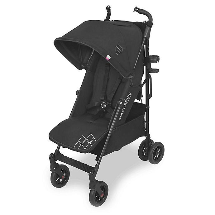 Alternate image 1 for Maclaren® 2018 Techno XT Style Set Stroller in Black/Black
