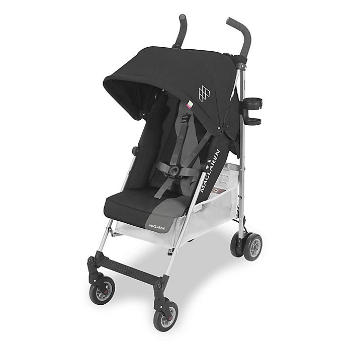 Alternate image 1 for Maclaren® Triumph Style Set Stroller in Black/Charcoal