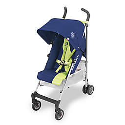 Maclaren® Triumph Stroller in Medieval Blue/Limeade