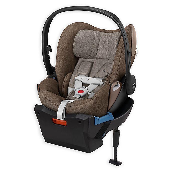 Alternate image 1 for Cybex Platinum Cloud Q Plus Infant Car Seat in Cashmere Beige