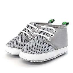 Stepping Stones Mesh Sneaker in Grey