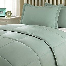 Clean Living Stain/Water Resistant 2-Piece Comforter Set