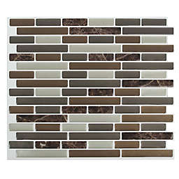 Peel & Impress™ 4-Pack Oblong Marble Peel and Stick Wall Tiles