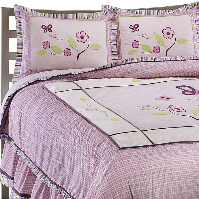 Cocalo Sugar Plum Twin Bed Skirt Bed Bath Beyond