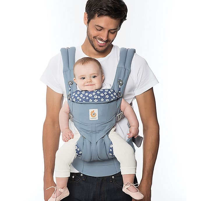 Alternate image 1 for Ergobaby™ Omni 360 Baby Carrier in Soft Blue